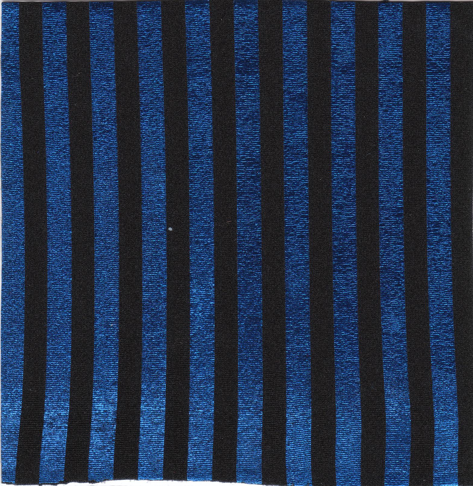 Shimmery Royal Stripe