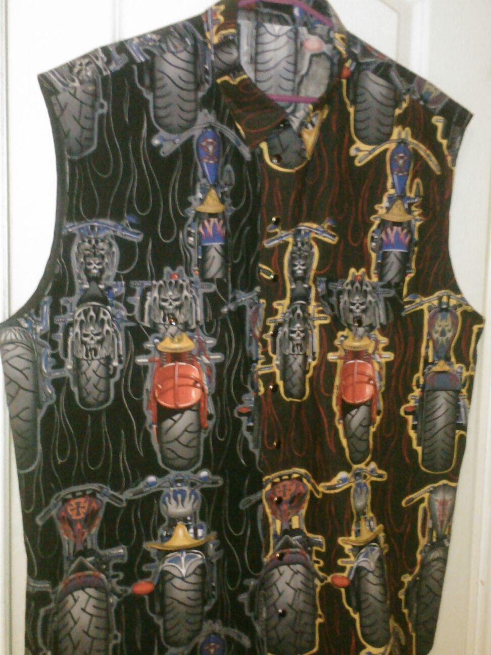 Custom Biker Shirt
